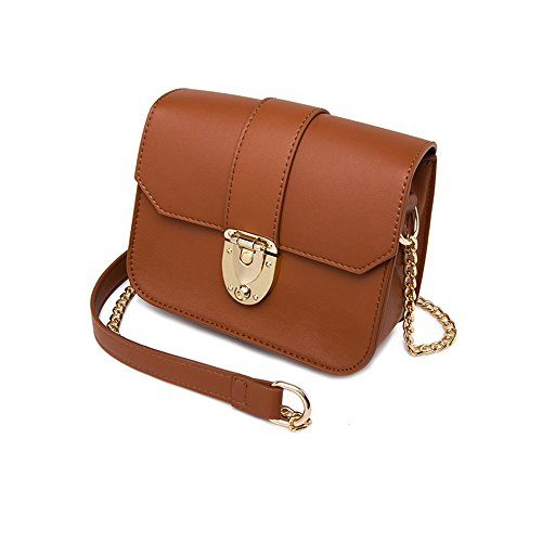 Brown Summer Oblique Mini Handbags Wild Version of Packets Gray Package Ladies Color Shoulder The Korean Backpack Chain zapqwxC
