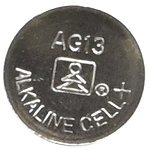 - 41XlCEdOnoL - AG13/LR44 Alkaline Button Cell Battery – 10 pack