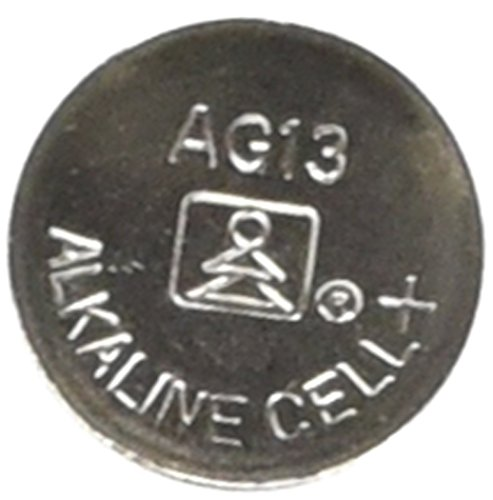 Alkaline Cell Button Battery - AG13/LR44 Alkaline Button Cell Battery - 10 pack