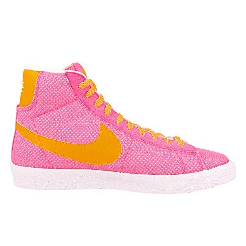 Nike Blazer Mid Vintage (GS) Schuhe pink glow-atomic mango-white - 36
