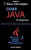 Core JAVA For Beginners, Part 2 Cover