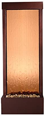 Bluworld Petite 4' Dark Copper Gardenfall with Bronze Mirror