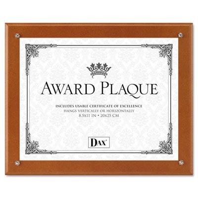 Dax Manufacturing DAX 10-1/2 by 13-Inch Plaque-in-an-Inst...