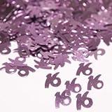 """Pink """"16"""" Confetti"""