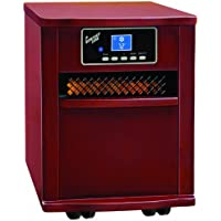 Comfort Zone Cherry Infrared Quartz Heater