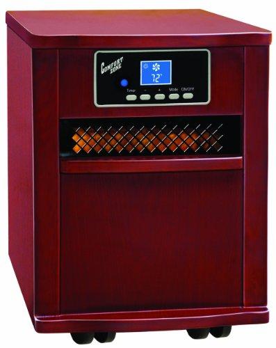 Comfort Zone Cherry Infrared Quartz Heater | amzn_product_post Cherry Comfort Comfort Zone Heater Infrared Infrared Heaters Infrared Heaters Quartz Zone®