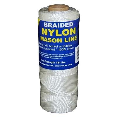 T.W Evans Cordage 12-500 Number-1 Braided Nylon Mason Line, 500-Feet: Home Improvement