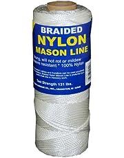 T.W Evans Cordage 12-500 Number-1 Braided Nylon Mason Line, 500-Feet