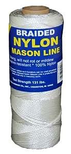 T.W . Evans Cordage 12-250 Number-1 Braided Nylon Mason Line, 250-Feet