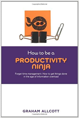 How to be a Productivity Ninja: Forget Time Management: How ...