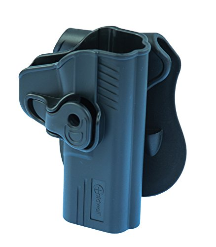 Caldwell Tac Ops S&W M&P 9mm Molded Retention Holster, Black by Caldwell