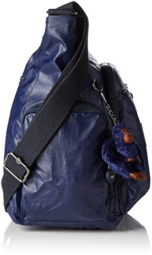 Lacquer Sacs Indigo B 35 Bandoulière x H Gabbie T 5 x 5x30x18 Kipling cm Bleu Femme wpH65Zq