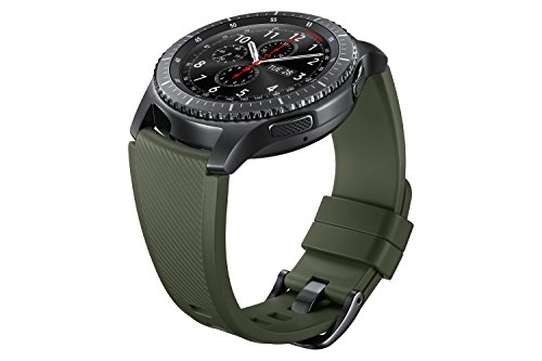 Samsung Gear S3 Silicone Replacement Band (22mm) - Green Khaki