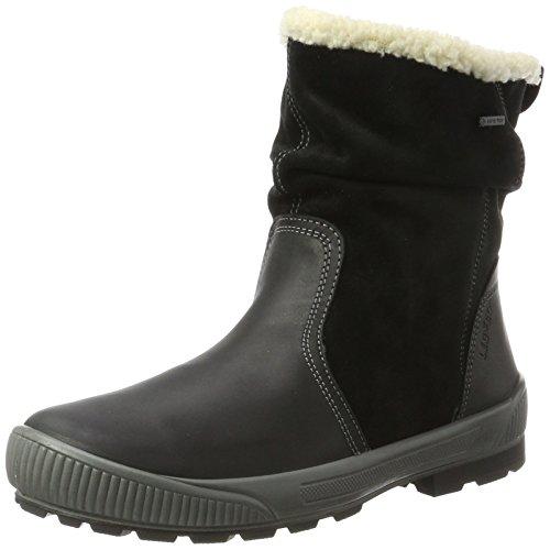 Legero Women's Taro Snow Boots, Black Black (Schwarz 00)