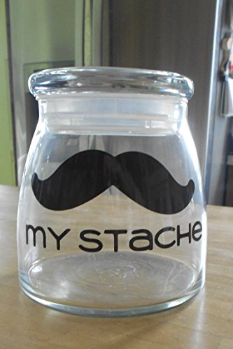 My Stache Mustache Jar (Jar Traditional Rack)