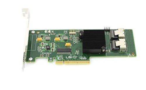 SAS9211-8I 8PORT Int 6GB Sata+SAS Pcie 2.0 by LSI Logic
