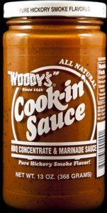 Woody's Cook-in' Sauce Barbecue Concentrate, 13 Ounce (Pack of 6)