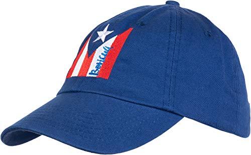 (Puerto Rican Flag | Boricua Nuyorican Rico Pride Low Fit Baseball Cap Dad Hat Royal Blue)