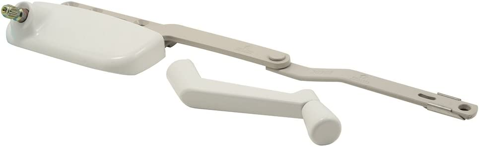 Prime-Line Products TH 24199 Truth Hardware Ellipse Single Arm Operator with Crank White