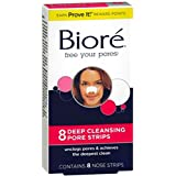 Biore Deep Cleansing Pore Strips 8 Count Nose