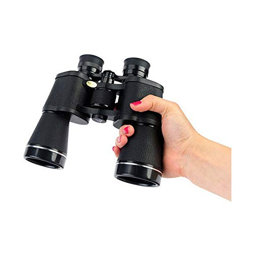 NASHICA Sprit 20 X 50 ZCF, 20 Times Binoculars, Outdoor Travel Binoculars, Water Resistant, Fully Coated Lense, 7.4'' x 6.8'' x 2.3'', Black by NASHICA (Image #5)