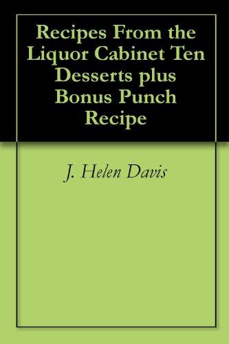 Recipes From the Liquor Cabinet Ten Desserts plus Bonus Punch Recipe -
