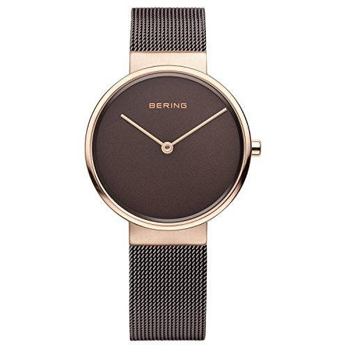 BERING Time 14539-262 Women's classic collection Watch witch Steel Bracelet Steel Case and Analog Sapphire Crystal. Designed in Denmark.