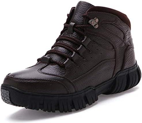 ウォーキングシューズ ハイキングシューズ メンズ 幅広 4E スニーカー シューズ 靴 レースアップ トレッキングシューズ ローカット 登山靴 ハイカット 防滑 耐摩耗性 メンズ ショートブーツ スノーブーツ 裏起毛 冬 雪靴