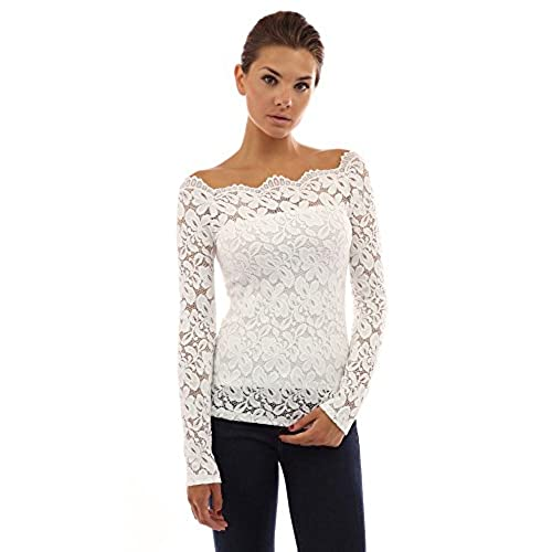 Lace Shirts For Women Amazon