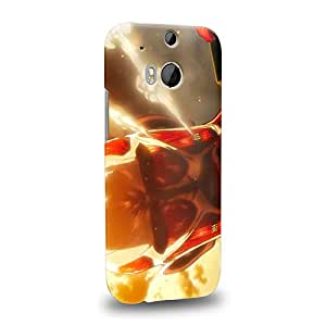 Case88 Premium Designs Attack on Titans Bertolt Hoover Colossal Titan Carcasa/Funda dura para el HTC One M8