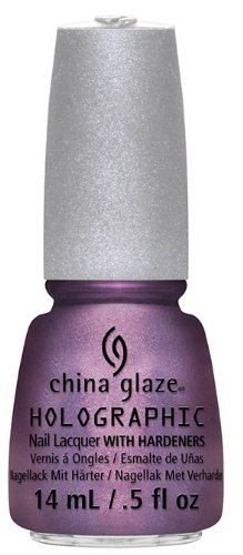CHINA GLAZE 12 Holographic Nail Lacquers with Hardeners - Get Outta My Space HealthCenter 81157