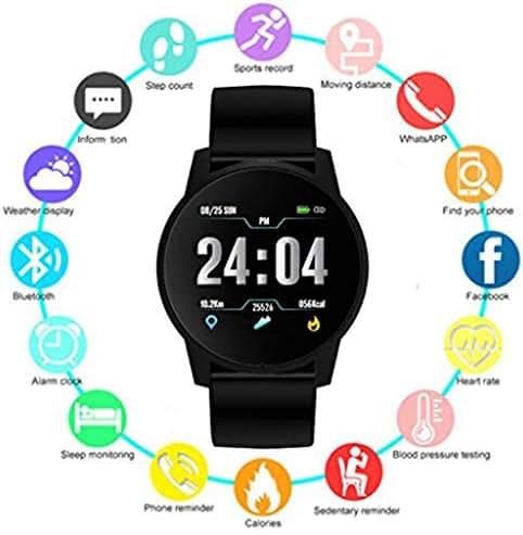 Smart Watch, Fitness Activity Tracker Watch with Heart Rate Blood Pressure Sleep Monitor IP67 Waterproof Sport Smart Bracelet Wristband for Android iOS Phones Men Women Kids