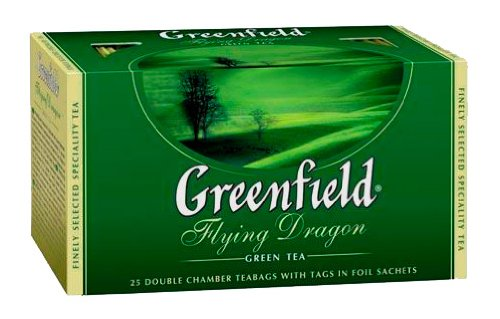 (Greenfield Green Tea Collection - Flying Dragon (25 Count Tea Bags) [Pack of 12])