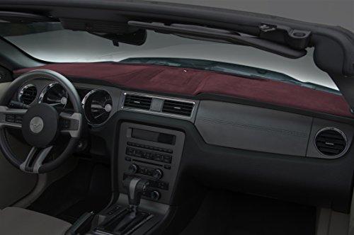 Coverking Custom Fit Dashboard Cover for Select Honda Accord Models - Velour (Wine)