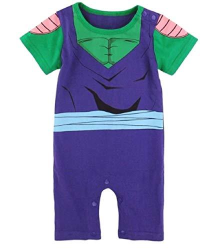JarilnMo DBZ Baby Onesie Outfits Dragon Ball z Goku Vegeta Baby Clothing with hat,color7(12M)]()