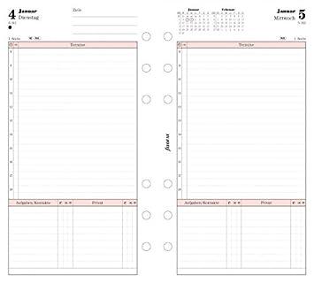 Filofax 6847416 - Recambio de agenda (un día por página ...