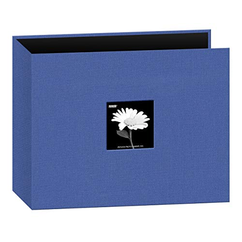 - Pioneer 12-Inch by 12-Inch Fabric 3-Ring Binder Album with Window, Blue