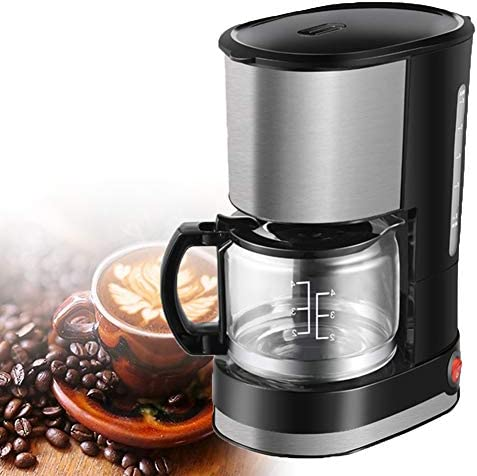 Cafeteras De Goteo Máquina Café con Filtro Americana del Aislamiento Hogar Acero Inoxidable Pote Vidrio Automático Cafetera,Molinillo De Café para Hogar: Amazon.es: Hogar