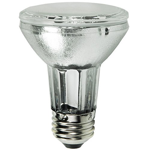 39w Par20 Metal - Philips Lighting 434183 PAR20 Metal Halide Lamp 39 Watt E26 Medium Base 2040 Lumens 91 CRI 3000K Warm White MasterColor CDM-R Elite