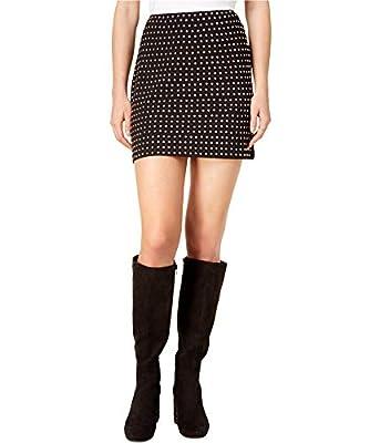 Bar III Womens Stretch Solid Mini Skirt