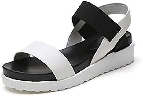 Summer Women Sandals Peep Toe Flats Shoes Woman Roman Shoes Women Mujer Sandalias