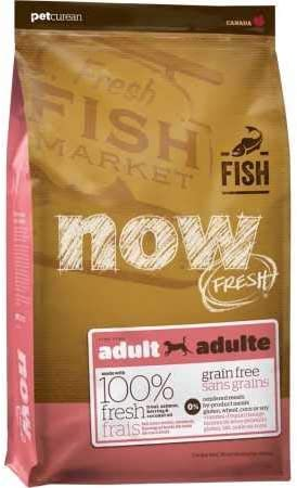 Petcurean Now Fresh Grain Free Fish Adult Recipe Dog Food – 25lb