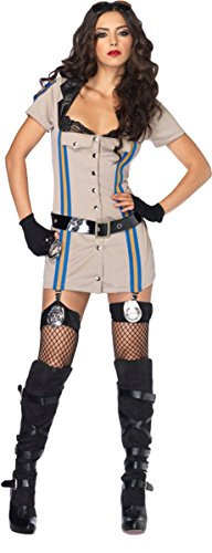 Highway Patrol Honey Costume - Medium - Dress Size 8-10 - Highway Patrol Honey Costume