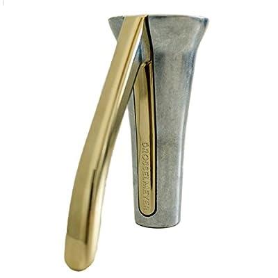 Drosselmeyer Nutcracker, Zinc and Gold
