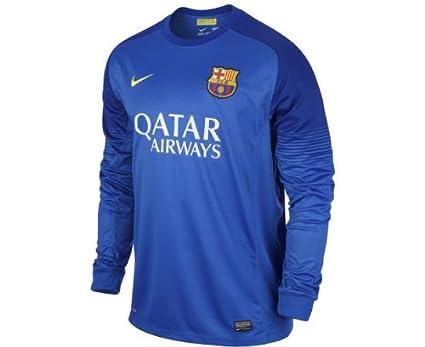 Nike Barcelona F.C. - Camiseta de fútbol portero 2013-14: Amazon.es: Ropa y accesorios