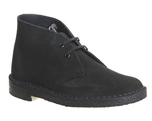 Clarks Womens Desert Boots 8 D (M) UK/42 EU Schwarz