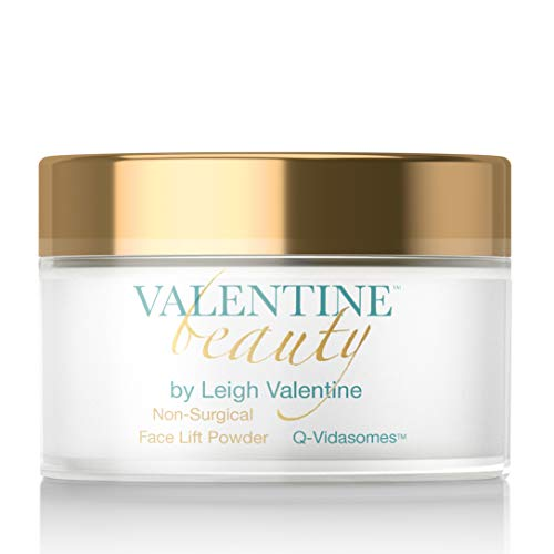 - Leigh Valentine Skin Care - Premium Rejuvenating Skin formula for Fresh and Youthful Skin- GOLD SERIES Non Surgical Face Lift Powder featuring Q-Vidasomes - Gold Series- 2oz