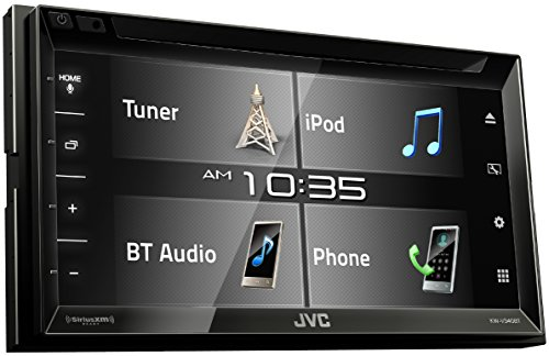 JVC KW-V340BT 6.2-inch Bluetooth DVD/CD/USB WVGA Receiver wi