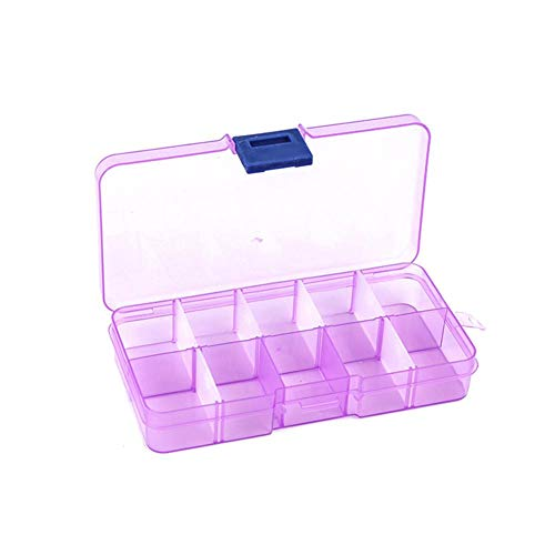 New-look Compartments Transparent Plastic Box Cosmetic Fishing Gear Jewelry Medicine Pills Storage Detachable Container Craft Organizer