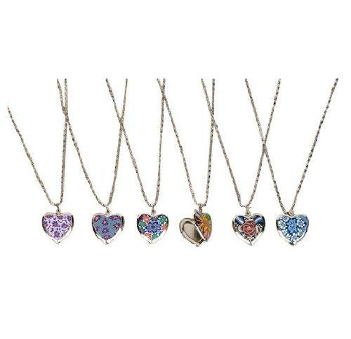 Heart Locket Necklace (1 dozen)